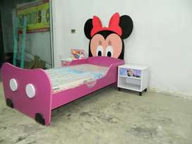 Kids Single Bed Mickey mouse Shape