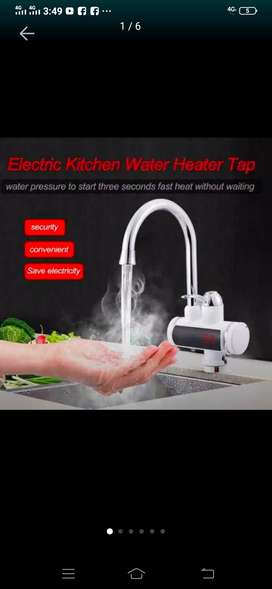 Tankless Electric Hot Water Heater Faucet Kitchen Instant Heating Tap