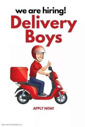 DELIVERY BOY JOB FULL TIME PART TIME TEMPORARY