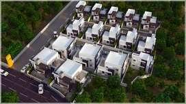 Stylish villas in palakkad