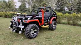 Open modified Jeeps