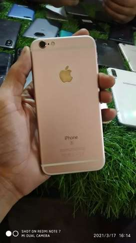 iPhone 6s rose gold colour 14months old phone with bill
