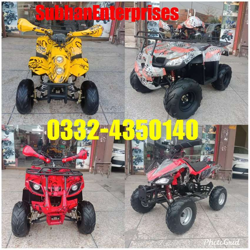 All Variety Available Atv Quad 4 Wheels Bike Under One Roof 0