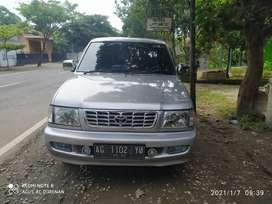 Dijual cepat kijang LGX diesel warna Silver