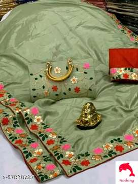 New womens saree with free hand bag