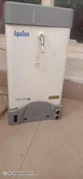 Water purifier for municipal water make:Aquasure