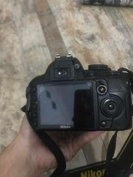 Nikon d3100 body only tanpa lensa