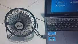 Kipas Angin Usb bisa pakai powerbank/laptop kondisi baru