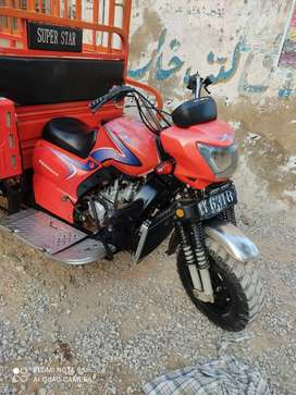 Supe star 200cc red colour