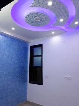 2 Bhk floor with modular amenities in uttam nagar near metro station