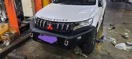 Bumper depan pajero model npc