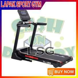 Alat Olahraga Fitness Treadmill Elektrik TL 126 Total Fitnes