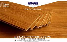 Vinyl flooring, wooden floors or Wood flooring by Grand interiors