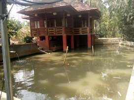 Jual Villa Nyaman Dg Kolam Ikan Dibawahnya Pondoksalam Purwakarta #gn