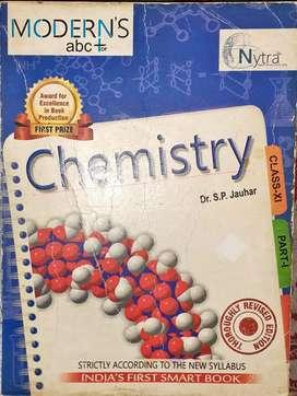 Modern ABC of Chemistry by SP JAUHAR CLASS XI