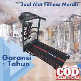 Treadmill Elektrik Total Fitness 2 hp TL 618 LIMITED EDITION