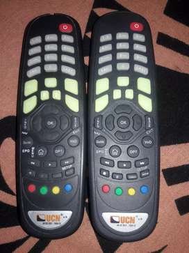 a pair of ucn remote