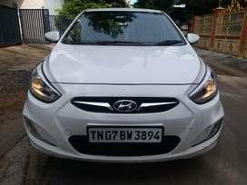 Hyundai Verna Fluidic 1.6 CRDi SX Opt AT, 2013, Diesel