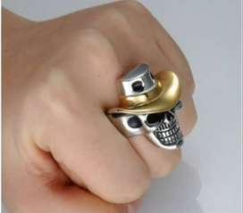 cincin coboy keren topi gold
