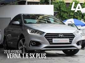 Hyundai Verna Fluidic 1.6 CRDi SX AT, 2018, Diesel