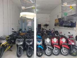 Kredit motor bekas di djaya motor uang muka Rp 500