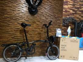 BROMPTON M6RD Special Black Edition 2020 Special accesories