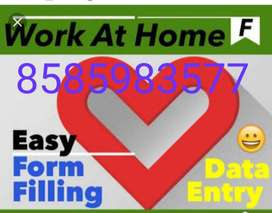 Earn daily Rs.1000 to 1500 on home based offline part time full time