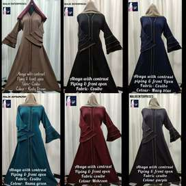 Whole sale in abayas and clothing