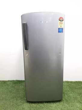Samsung 5 star rating 190 liters single door fridge with free shippin