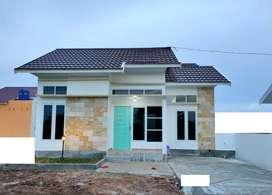 JUAL Rumah Syariah ZRMN Baru Murah Langkai Pahandut Kota Palangkaraya