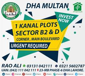 DHA Multan Sector M Facing Park Plot Available For Sale