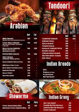 Tandoori, Barbeque Grill Master Required