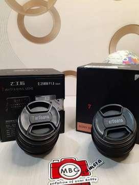 Lensa Sony 7artisans E-Mount 25mm f1.8