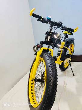 IMPORTED Fat Tyre CYCLES with 21 Gears
