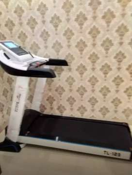 Treadmil elektrik auto incline mewah