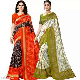Saree with new design