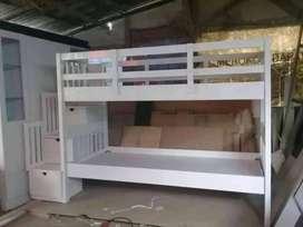 Tempat tidur Tingkat modern minimalis. Pesan Pembayaran Bisa COD