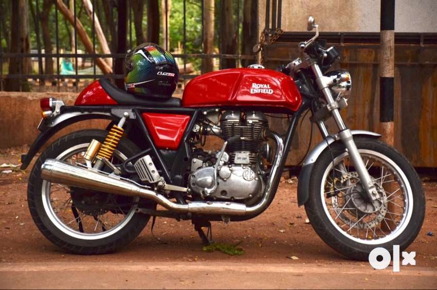 9217 kms only 2014 Royal Enfield Continental GT 0