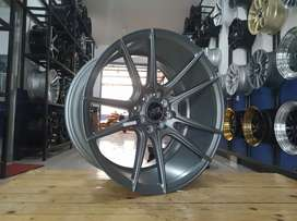 For sale velg HSR CICAH ring17x7,5/9 pcd8x100/114, 3 bisa cicilan