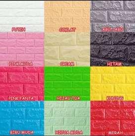 Wallpaper foam motif bata