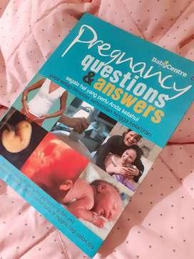 Preloved 4 buah Buku Best Seller masa Kehamilan dan Merawat Bayi