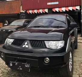 Mitsubishi strada triton tahun 2008 GLS turbo 4x4 double cabin