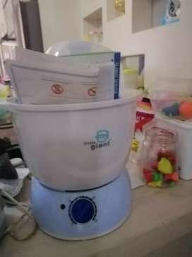 Mesin steril botol bayi