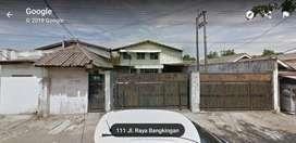 Dijual Gudang Bekas Pabrik di Kebraon, Karangpilang Surabaya Selatan