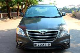 Toyota Innova 2.5 VX (Diesel) 8 Seater, 2014, Diesel