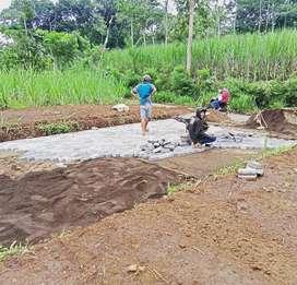 Tanah kavling poros jalan kampung dekat rumah sakit singosari malang