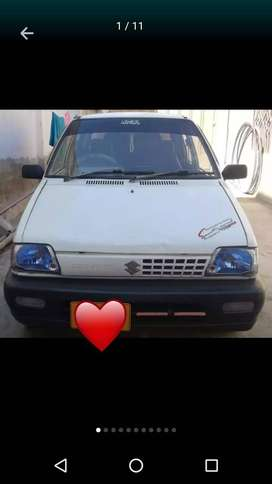 Alto mehran 2008 custom paid