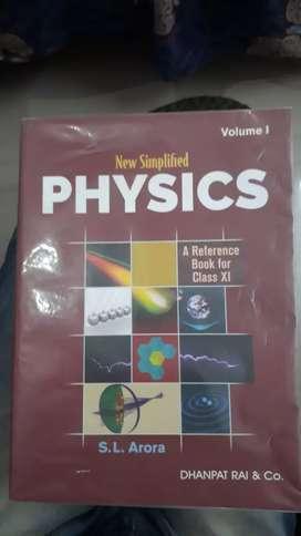 11th class Physics book S.L Arora