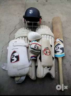 SG Cricket Kit Full Set