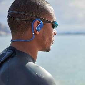 JBL Endurance Dive Waterproof Wireless In-Ear Sport Headphones - Blue